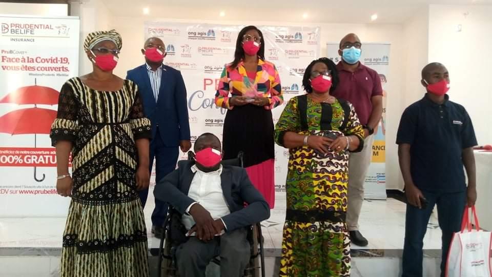 COVID-19 : Prudential Belife Insurance subventionne l'ONG AGIS pour éradiquer la pandémie