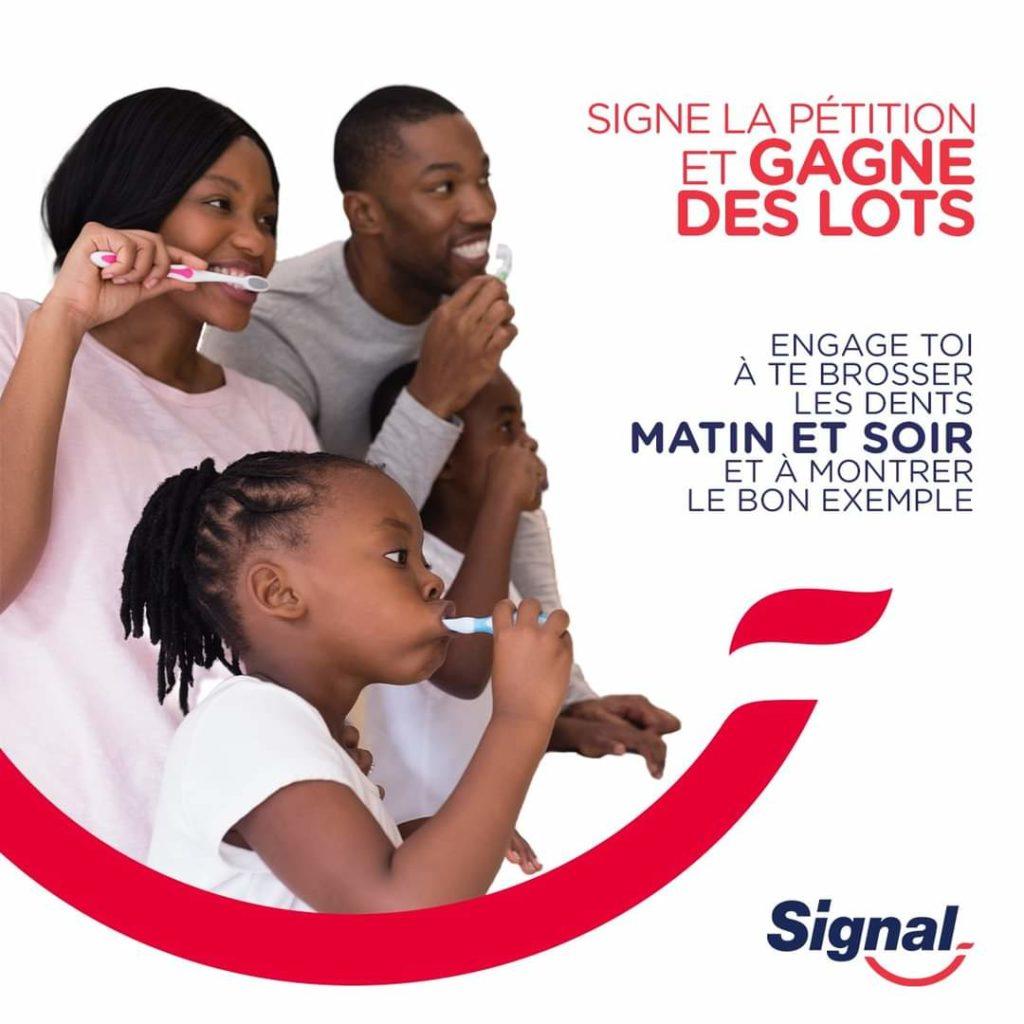 Célébration de la Journée Mondiale de la Santé Bucco-dentaire avec la marque Signal.