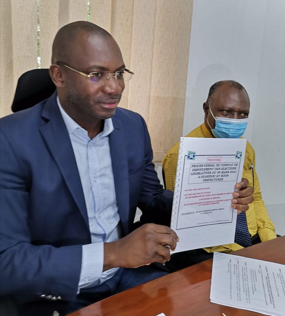 Élection Législative 2021 dans la circonscription N11 (Ouaninou-Koonan-Gbelo-Gouekan-Saboudougou-Santa) Diomandé Abdoul Ahmara conteste les résultats de la CEI