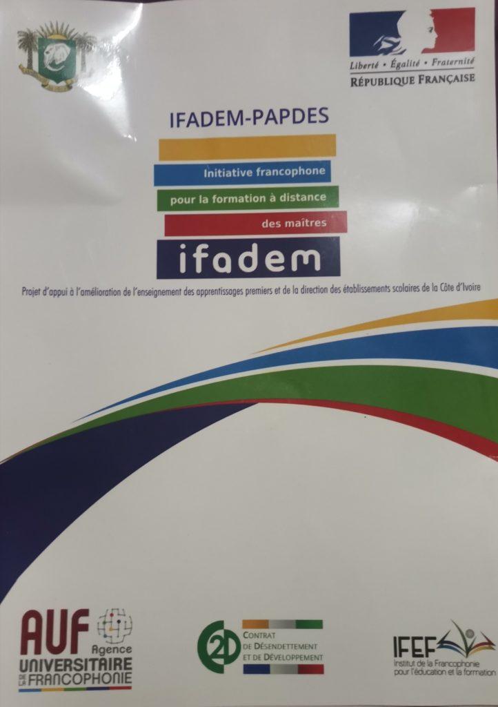 Côte d'Ivoire /Projet IFADEM-PAPDES:Lancement de la 3ieme composante duu projet de formation réservé aux chefs d'établissement de l'enseignement secondaire en vue de la prise de décision.