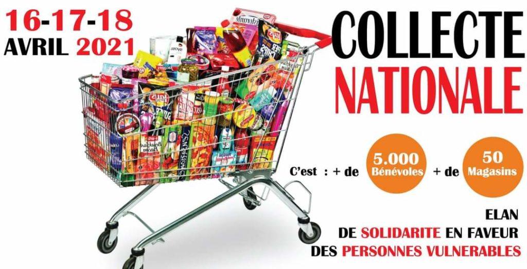 La Banque Alimentaire de Côte d'Ivoire organise une Collecte National les 16,17 et 18 avril 2021.