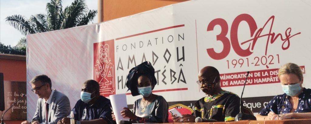 Lancement officiel de l'année Amadou Hampâté Bâ