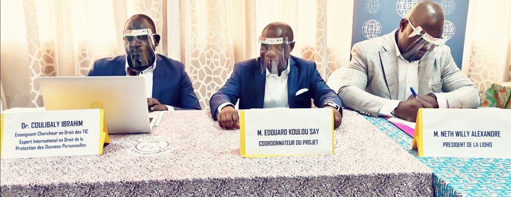 Atelier préparatoire des acteurs de la société civile ivoirienne à la protection des données personnelles en Côte d'Ivoire