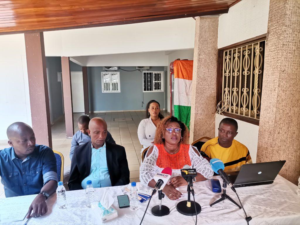 La Coordinatrice nationale de la plate-forme de la société civile Action citoyenne ivoirienne (ACI), Pulchérie Gbalet, s'est prononcée ce vendredi 30 avril 2021, à Cocody, à travers une conférence de presse, sur les conditions de détentions à la Maison d'arrêt et de correction d'Abidjan (MACA).