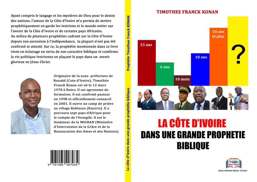 Le prophète Timothée Franck Konan parle, à la nation ivoirienne, à travers, une œuvre prophétique