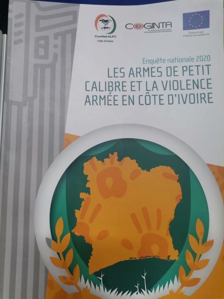 Côte d'Ivoire /CISALW:Remise du Rapport de l'enquête Nationale 2020 sur les armes de petit calibre et la violence armée en Côte d'Ivoire