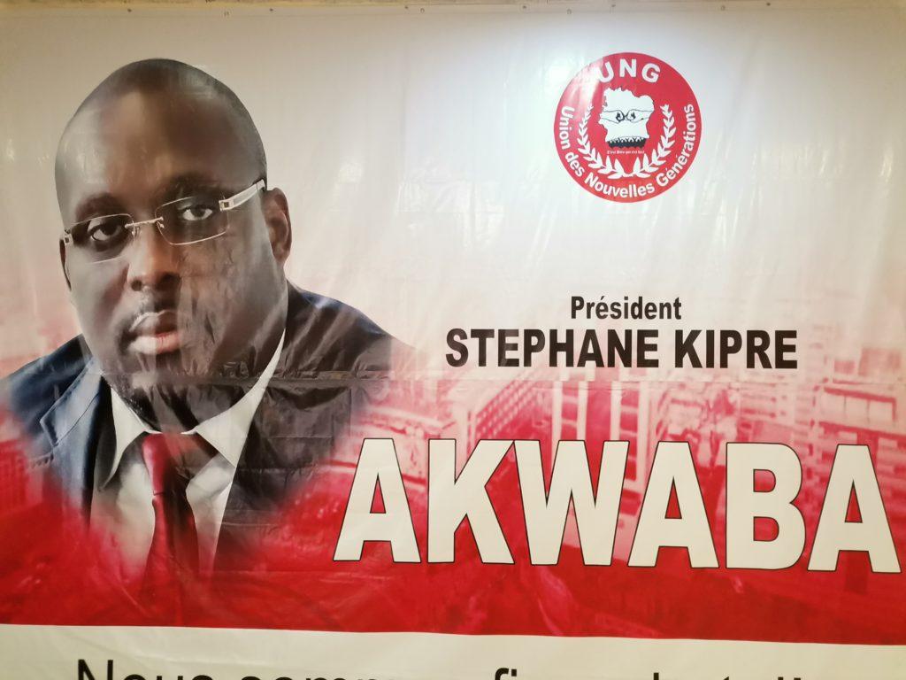 L'UNG dit AKWABA à son 1er Leader, le président STÉPHANE Kipré.