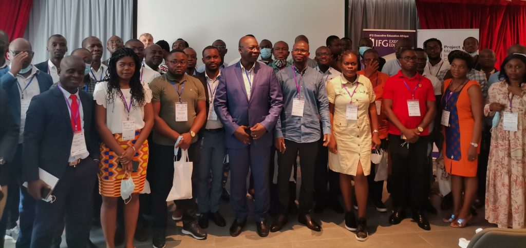 Assemblée Générale Ordinaire 2021 du PMI Chapitre Côte d'Ivoire à Abidjan.