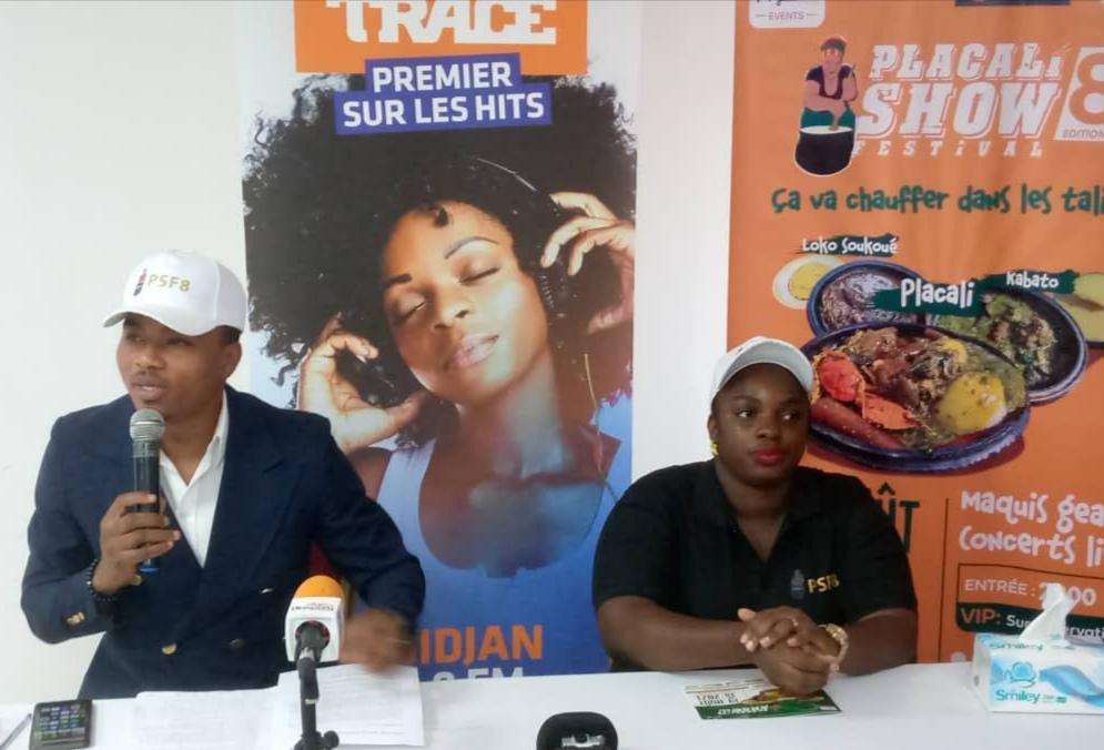 Côte d'Ivoire :Lancement de la 8ieme édition du PLACALI SHOW FESTIVAL