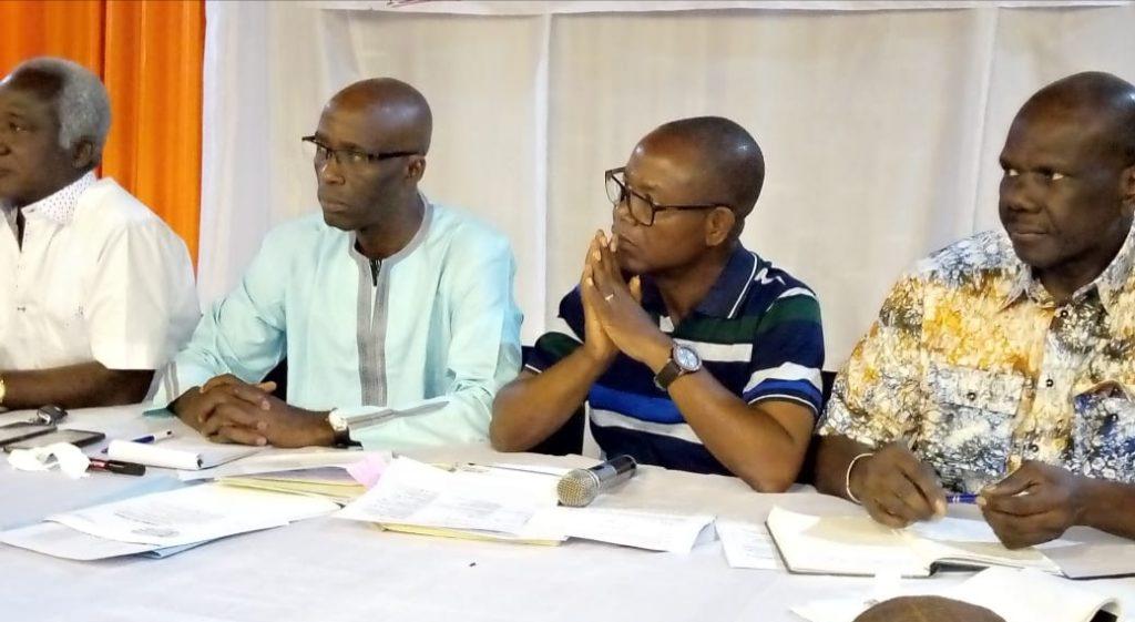 Assemblée générale Extraordinaire du Comité de suivi des Droits du personnel ivoirien de l'Ex-compagnie Multinationale AIR AFRIQUE.