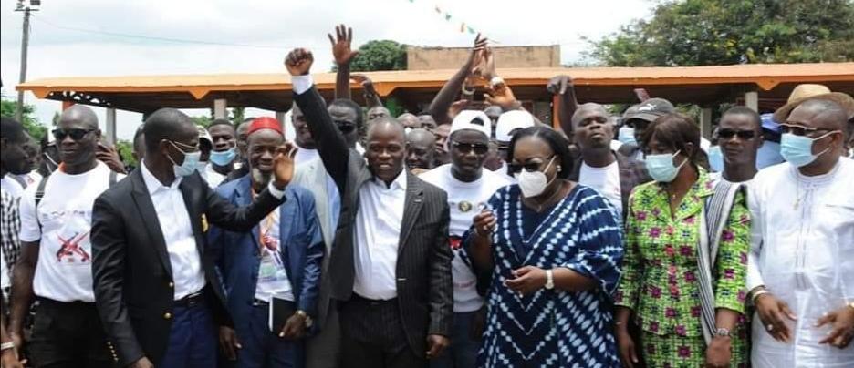 Discours du Ministre de l'intérieur et de la sécurité parrain de la cérémonie de renouvellement de l'engagement pour la Paix et la non-violence des Ambassadeurs de la paix de Côte d'Ivoire