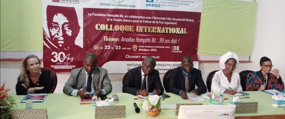 LA CÔTE-D'IVOIRE REND HOMMAGE A L'IMMORTEL AMADOU HAMPÂTÉ BÂ