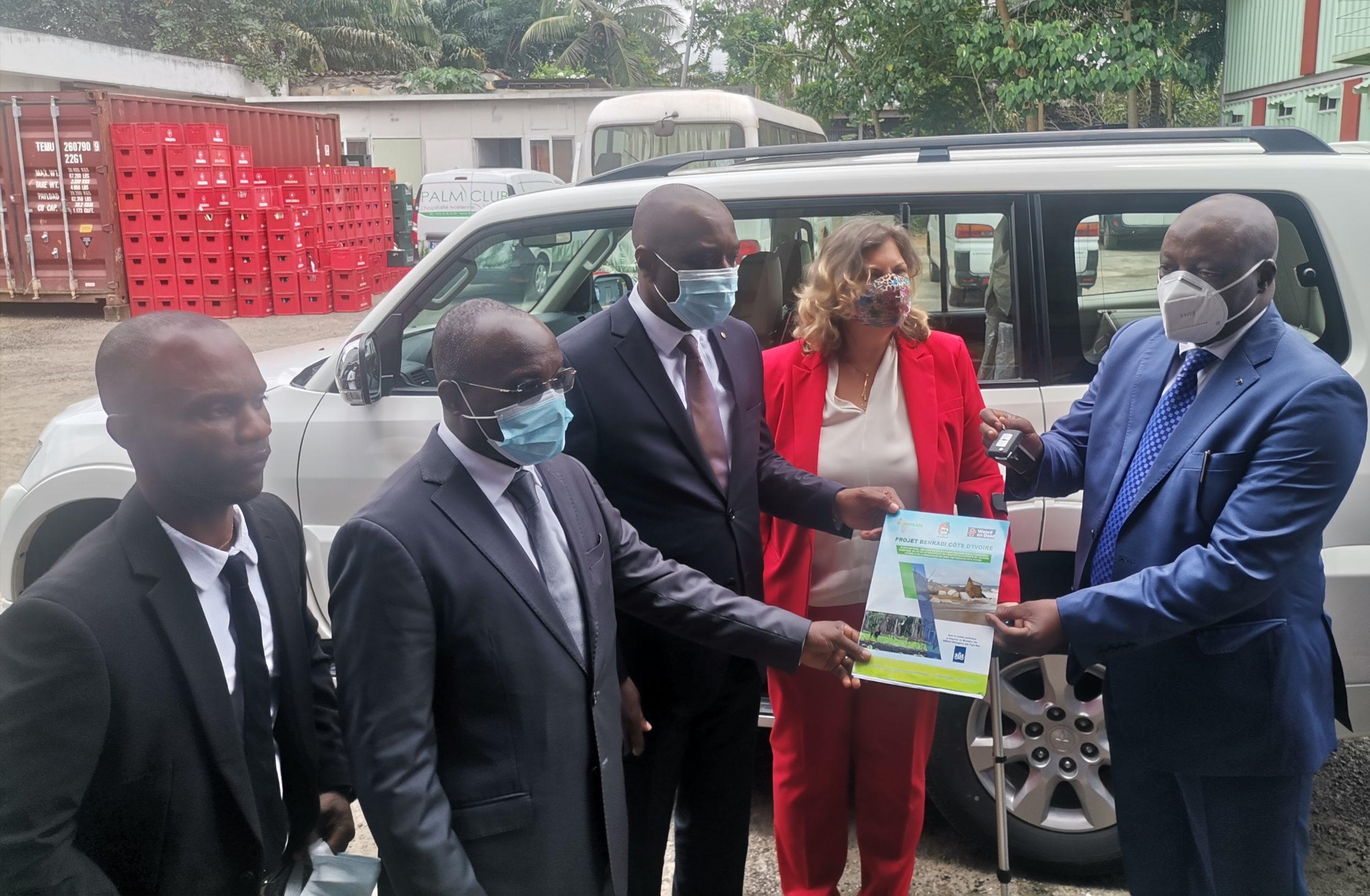 Côte d'Ivoire : Cérémonie de lancement officiel du projet BENKADI