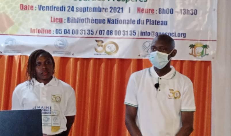 CÔTE-D'IVOIRE/L'ANASOCI CÉLÈBRE LES PERSONNES SOURDES