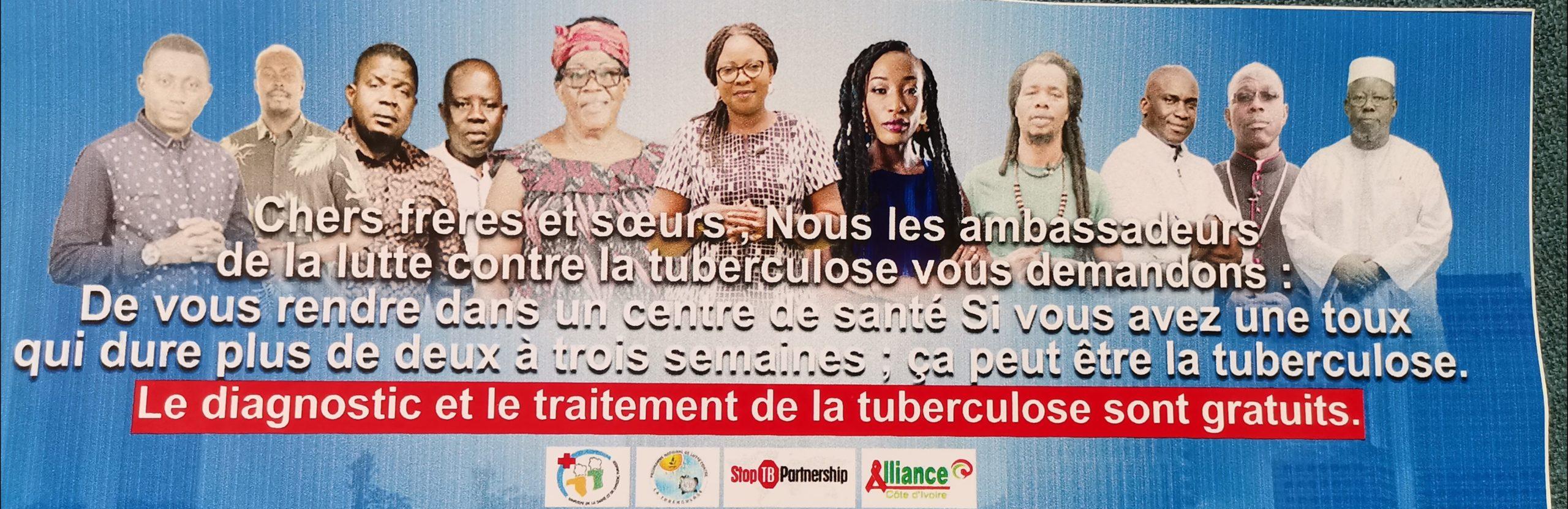 Cérémonie de lancement officiel  « Communicateur contre la Tuberculose »