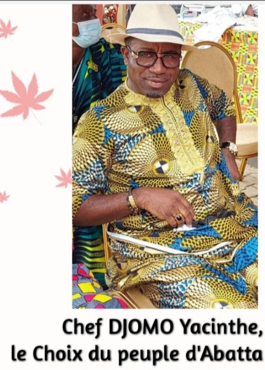 Côte d'Ivoire /Abatta village: intronisation du chef choisi, Djomo Hyacinthe le 16 octobre 2021.