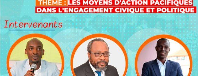 Graines de Paix : Cadre de dialogue pour la participation civique, la  paix et la réconciliation